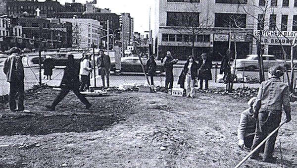Green Guerillas: Revitalizing Urban Neigborhoods with