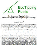 Restoring Ecological Security Policy Studies